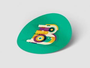 Naklejki okrągłe z logo