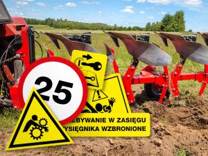 Naklejki na maszyny rolnicze
