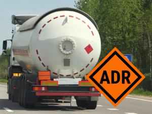 Naklejki ostrzegawcze ADR