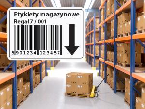 Etykiety magazynowe