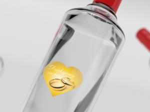 Naklejki na wódkę